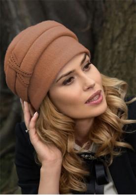 Керемидена класна дамска шапка  Arezo