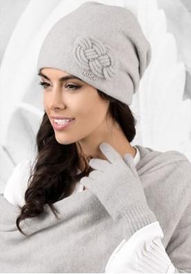 Сива зимна шапка Bergamo