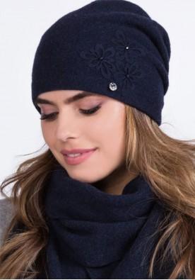 Зимна шапка Lilly в синьо