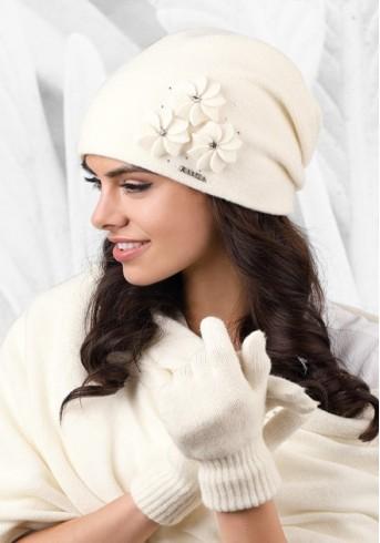 Бяла шапка Siena