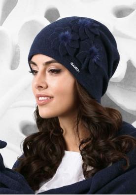 Синя зимна шапка Teramo