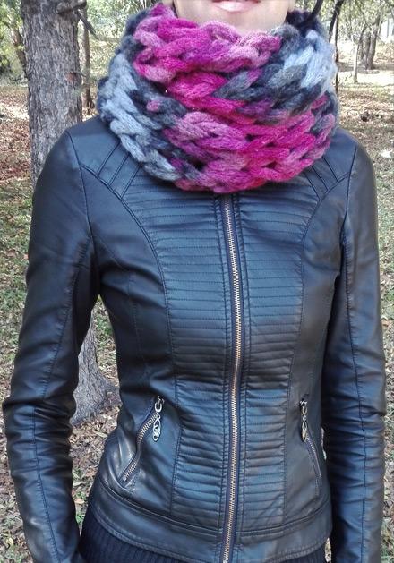 Плетен шал Мадлен