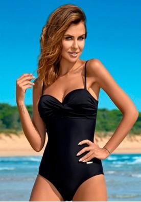 Черен цял бански марка Gabbiano модел Karen G H