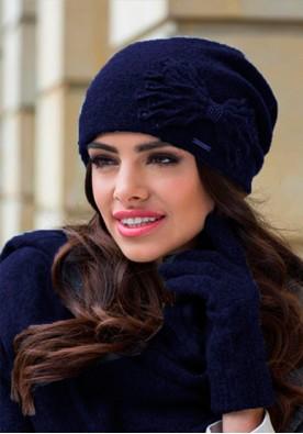 Елегантен комплект от шал, шапка и ръкавици Lena-марка Kamea